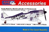 FW 190 V75 with SG 113, conversion set; 1:48