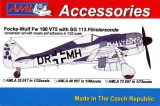 FW 190 V75 with SG 113, conversion set; 1:32
