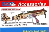 FW 190D-9 with the Ta 152 Tail, Conversion parts; 1:48