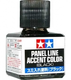 Panel Line Accent Color Black; 40 ml