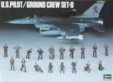 U.S. Pilot / Ground crew Set: B; 1:48