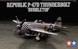 "Republic P-47D THUNDERBOLT ""Bubbletop""; 1:72"