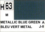 H63 Metalic Blue Green 10 ml