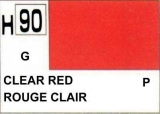 H90 Clear Red 10 ml