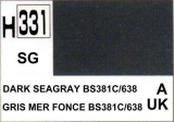 H331 Dark SeaGrey BS381C/638 Semigloss 10 ml