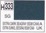 H333 Extra Dark SeaGrey BS381C/640 Semigloss 10 ml