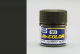 C38 Mr.Color Olive Drab 2 flat 10 ml