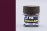 C41 Mr.Color Red Brown flat 10 ml