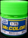 C175 Mr.Color Fluorescent Green gloss 10 ml