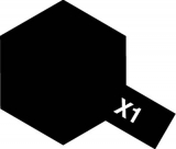 X-1 - Black acryl mini 10 ml