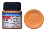 LC 04 Matt Dark Yellow; acrylic 22 ml