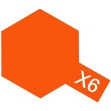 X-6 - Orange acryl mini 10 ml