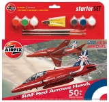 RAF Red Arrows Hawk 50th.; 1:48 Starter SET