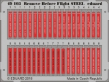 Remove Before Flight STEEL; 1:48