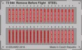 Remove Before Flight STEEL; 1:72