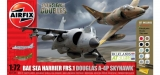Dogfight Sea Harrier FRS.1 + A-4P Skyhawk; 1:72