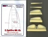 Spitfire Mk.VB Resin wings set, Conversion set; 1:32