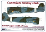 Masky Hawker Typhoon Mk.IB / Late; 1:32