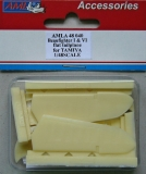 Beaufighter I & VI flat tailplane for Tamiya; 1:48