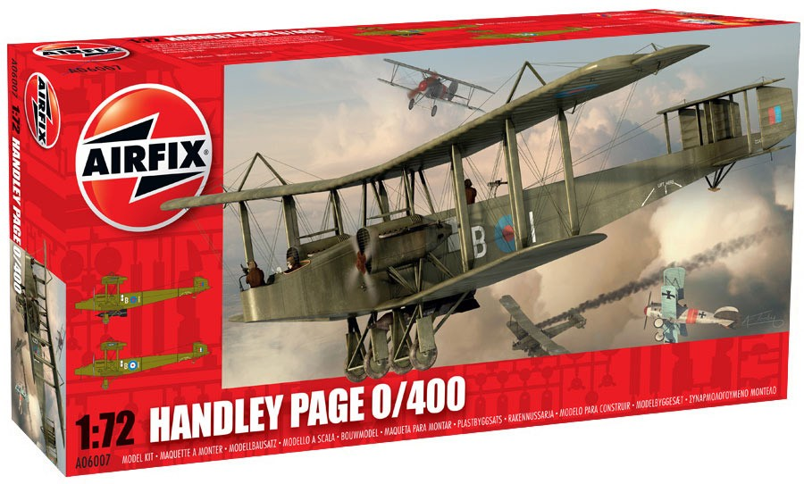 Handley Page 0/400; 1:72
