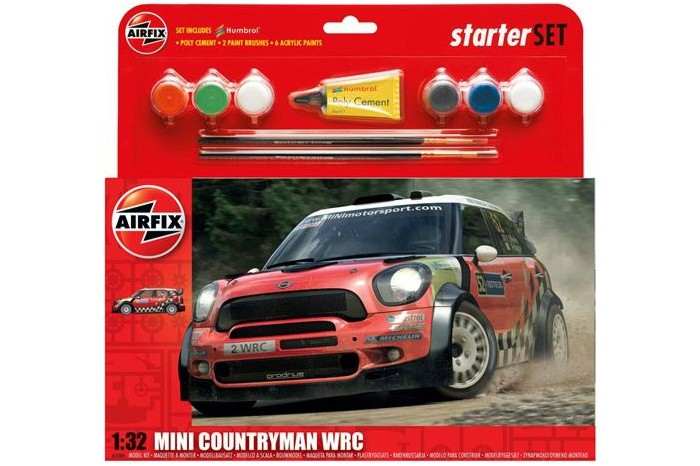 MINI Countryman WRC Starter SET; 1:32