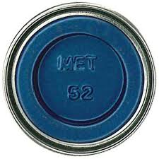 52- Baltic Blue Metallic synt. farba 14 ml, AA0566