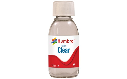 Lak Humbrol Clear Matt Varnish 125 ml