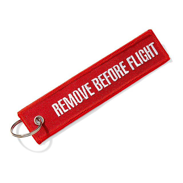 "Prívesok ""REMOVE BEFORE FLIGHT"""