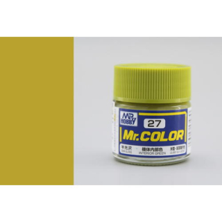 C27 Mr.Color Interior Green Semigloss 10 ml