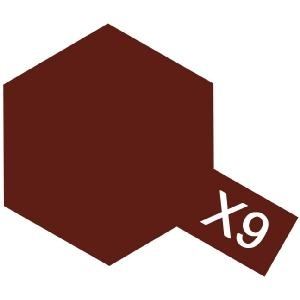 X-9 - Brown acryl 23 ml