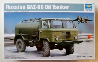 Russian GAZ-66 Oil Tanker; 1:35