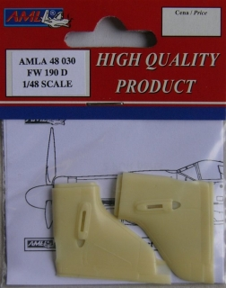 FW 190D correct tail for Eudard; 1:48