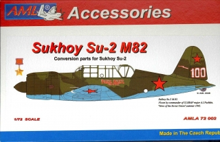 Sukhoy Su-2 M82 Conversion parts; 1:72
