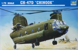 CH-47D Chinook; 1:72