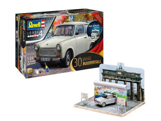 "Trabant 30th Anniversary ""Fall of the Berlin Wall""; 1:24 + 3D Puzzle"