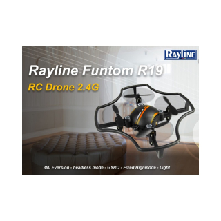 Dron Rayline Funtom F-19; 2,4GHz