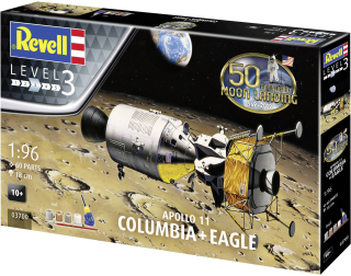 "Apollo 11 COLUMBIA + Eagle"" Gift Set; 1:96"