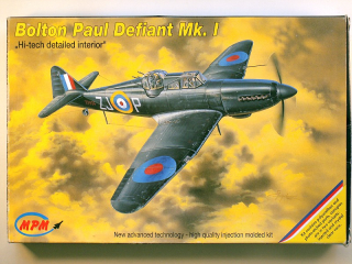 "Boulton Paul Defiant Mk.I ""Hi-tech detailed interior"""