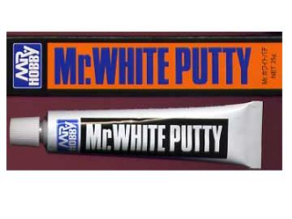 Mr.White Putty; biely tmel 30g