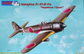 Nakajima Ki 43-III KO / Detail set; injection canopy