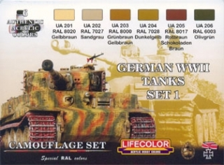 German WW II Tanks SET 1