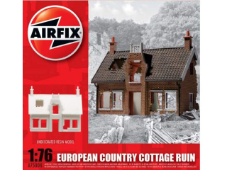 European Country Cottage Ruin (Ruiny vidieckeho domčeka); 1:76