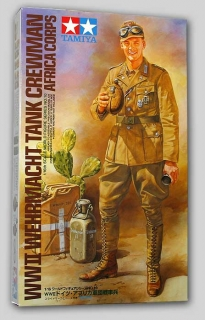 Wehrmacht Tank Crewman Africa Corps; 1:16