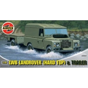 LWB LandRover (Hard Top) + Trailer