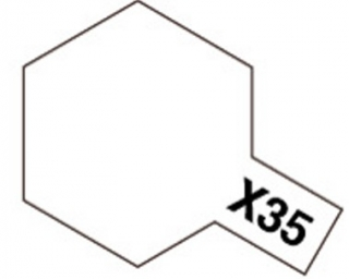 X-35 - Clear semi gloss acryl mini 10 ml
