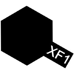 XF-1 - Black Flat acryl mini 10 ml