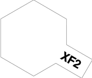XF-2 - White Flat acryl mini 10 ml