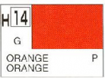 H14 Orange Gloss 10 ml