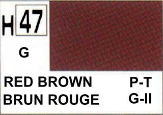 H47 Red Brown Gloss 10 ml