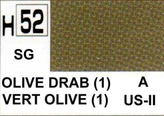 H52 Olive Drab I Semigloss 10 ml